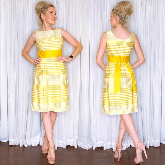 new directions Dresses & Skirts - Yellow Stripe Sundress